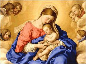 Ogłoszenia duszpasterskie - Uroczystość Świętej Bożej Rodzicielki Maryi  (01.01.2021)