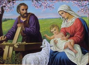 Ogłoszenia duszpasterskie - Święto Świętej Rodziny Jezusa, Maryi i Józefa