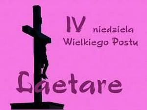 Ogłoszenia duszpasterskie - IV Niedziela Wielkiego Postu (Laetare)
