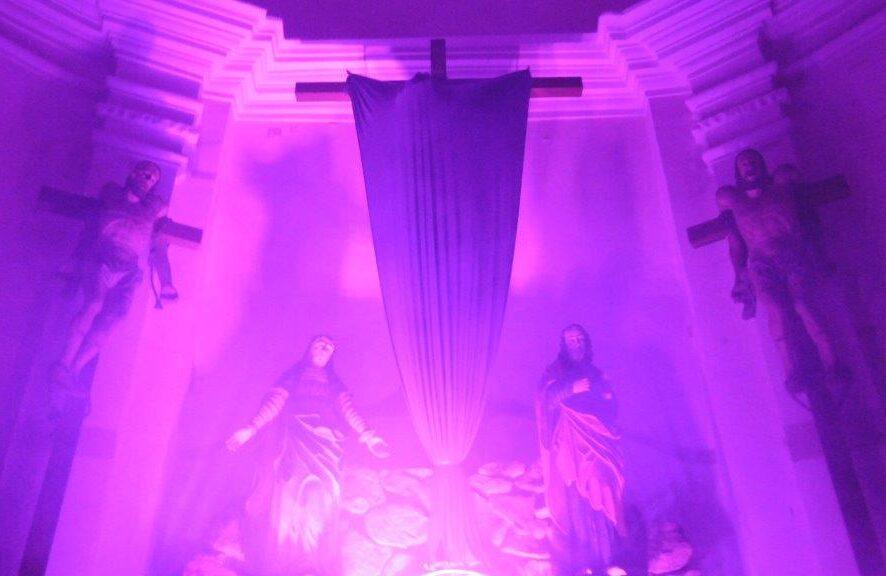 Wielki Piątek. Nocne obchody na Kalwarii - Foto: 02.04.2021