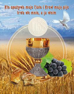 Ogłoszenia duszpasterskie - Uroczystość Najświętszego Ciała i Krwi Pańskiej. Boże Ciało
