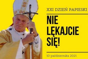List pasterski Episkopatu Polski zapowiadający obchody XXI Dnia Papieskiego  - Nie lękajcie się